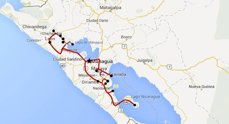Tours in Nicaragua