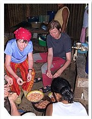 Bluefields Nicaragua Cooking in Ramacay